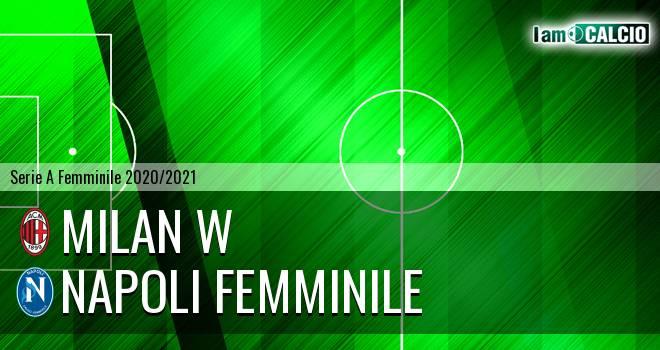 Milan W - Napoli Femminile