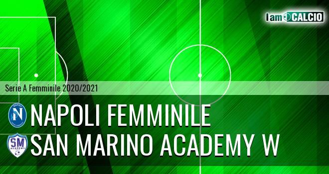 Napoli Femminile - San Marino Academy W