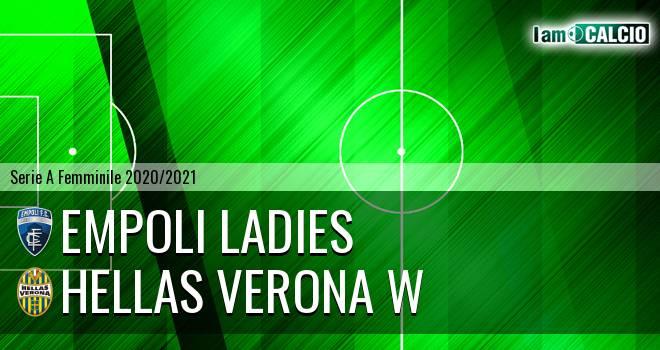 Empoli Ladies - Hellas Verona W