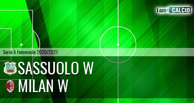 Sassuolo W - Milan W