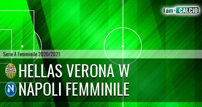 Hellas Verona W - Napoli Femminile