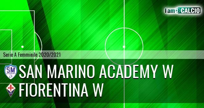 San Marino Academy W - Fiorentina W