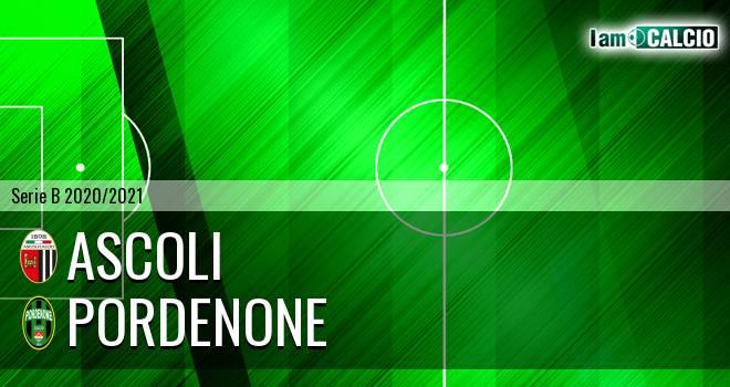 Ascoli - Pordenone 0-1. Cronaca Diretta 31/10/2020