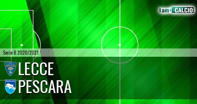 Lecce - Pescara 3-1. Cronaca Diretta 02/11/2020
