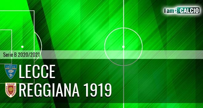 Lecce - Reggiana 1919 7-1. Cronaca Diretta 21/11/2020