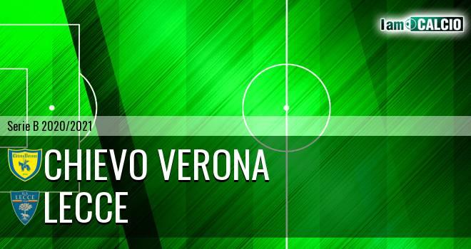 Chievo Verona - Lecce 1-2. Cronaca Diretta 27/11/2020