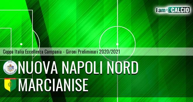 Nuova Napoli Nord - Marcianise 0-1. Cronaca Diretta 13/09/2020
