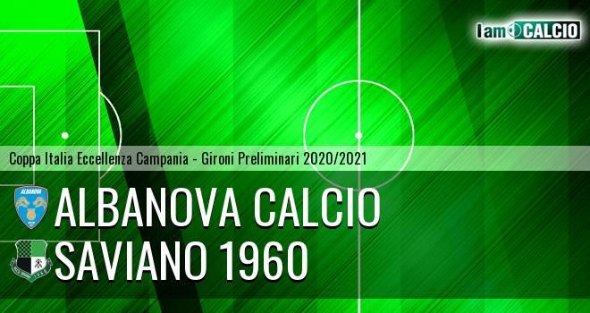 Albanova Calcio - Saviano 1960