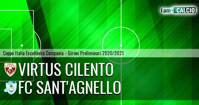 Virtus Cilento - FC Sant'Agnello 1-1. Cronaca Diretta 13/09/2020