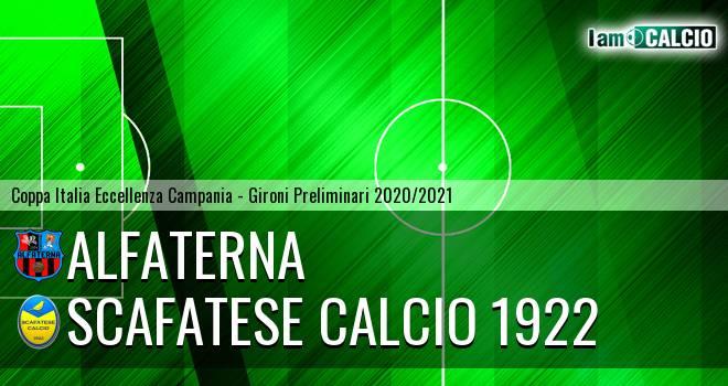 Alfaterna - Scafatese Calcio 1922