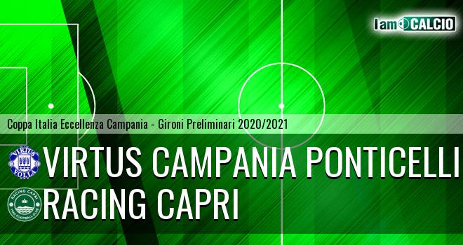 Virtus Campania Ponticelli - Racing Capri