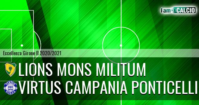 Lions Mons Militum - Virtus Campania Ponticelli