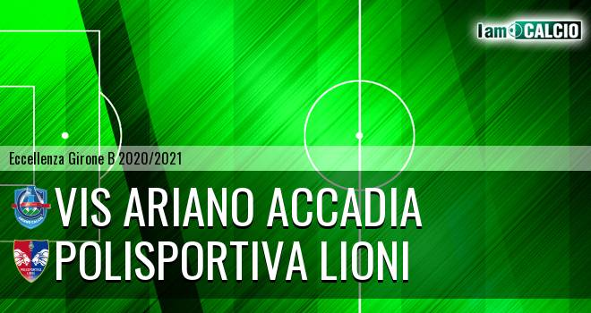 Vis Ariano Accadia - Polisportiva Lioni
