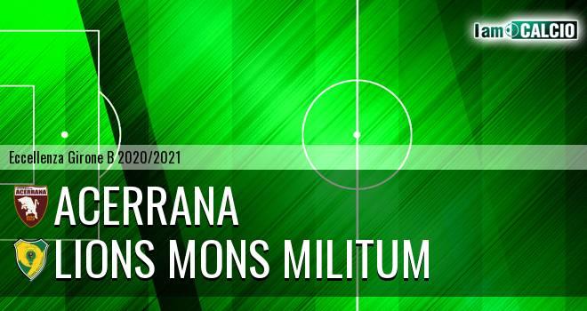 Acerrana - Lions Mons Militum