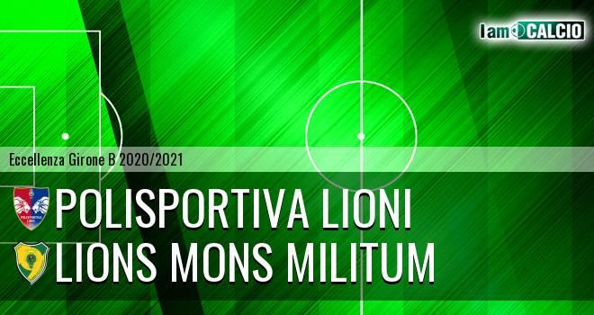 Polisportiva Lioni - Lions Mons Militum
