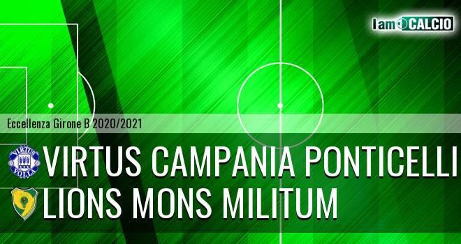 Virtus Campania Ponticelli - Lions Mons Militum