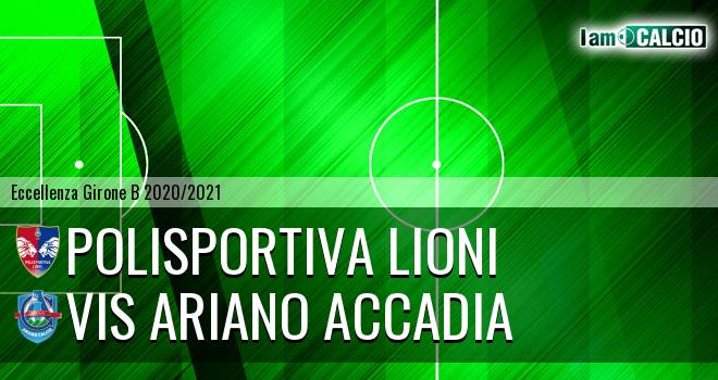Polisportiva Lioni - Vis Ariano Accadia