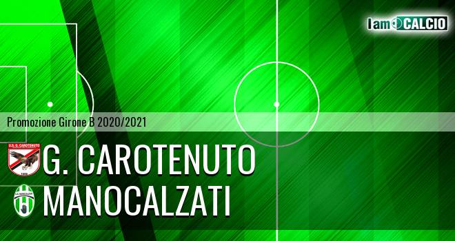 G. Carotenuto - Manocalzati