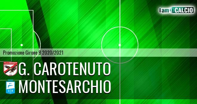 G. Carotenuto - Montesarchio