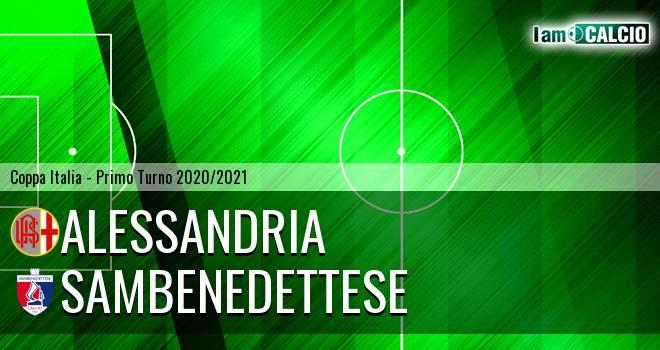 Alessandria - Sambenedettese