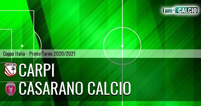 Carpi - Casarano Calcio