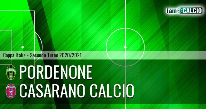 Pordenone - Casarano Calcio
