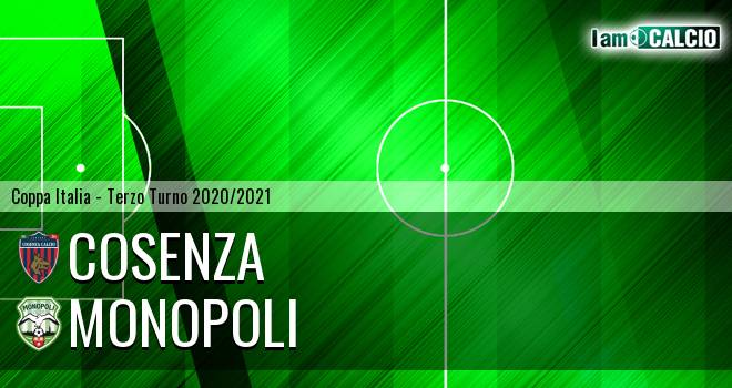 Cosenza - Monopoli