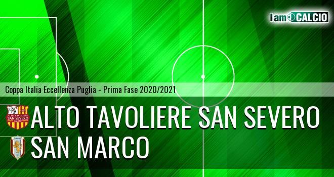 Alto Tavoliere San Severo - San Marco