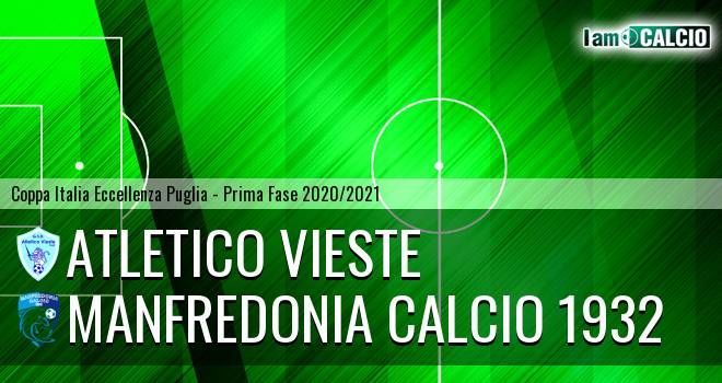 Atletico Vieste - Manfredonia Calcio 1932