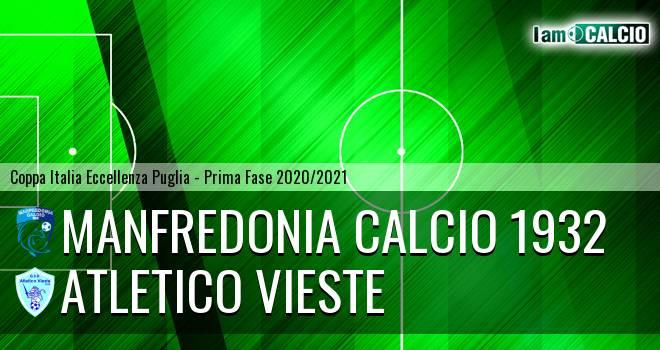 Manfredonia Calcio 1932 - Atletico Vieste
