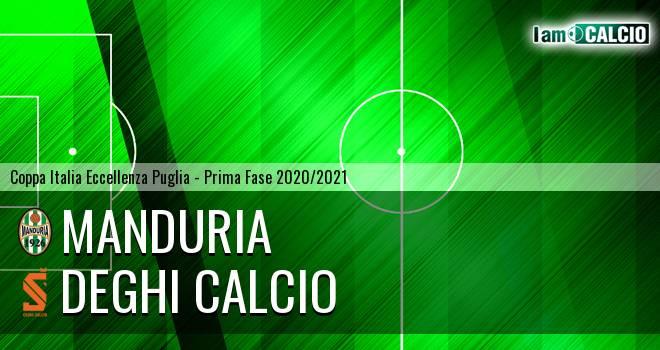 Manduria - Deghi Calcio