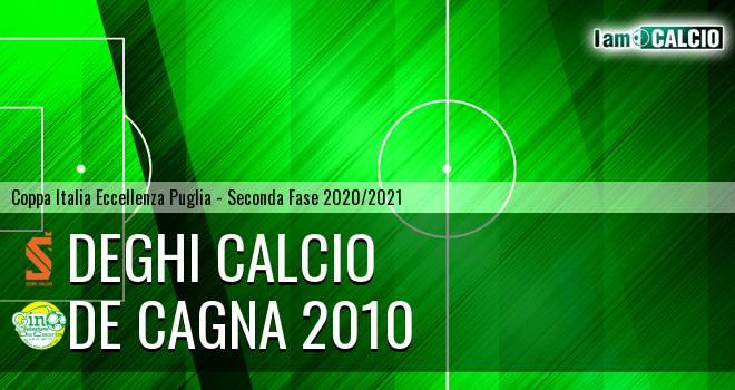 Deghi Calcio - De Cagna 2010