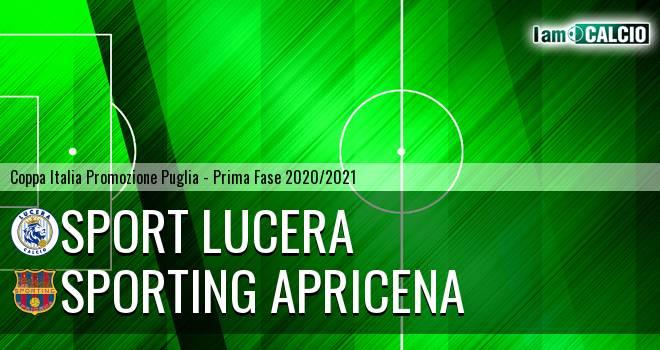 Sport Lucera - Sporting Apricena