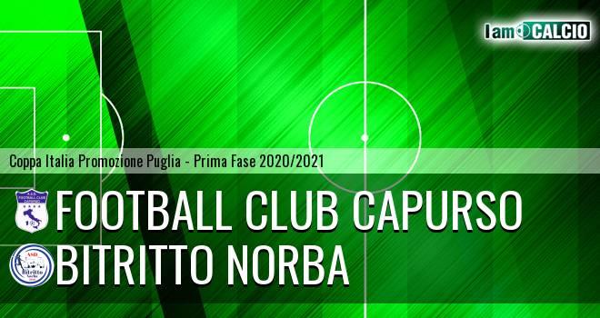 Football Club Capurso - Bitritto Norba