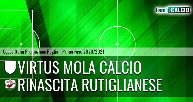 Virtus Mola Calcio - Rinascita Rutiglianese