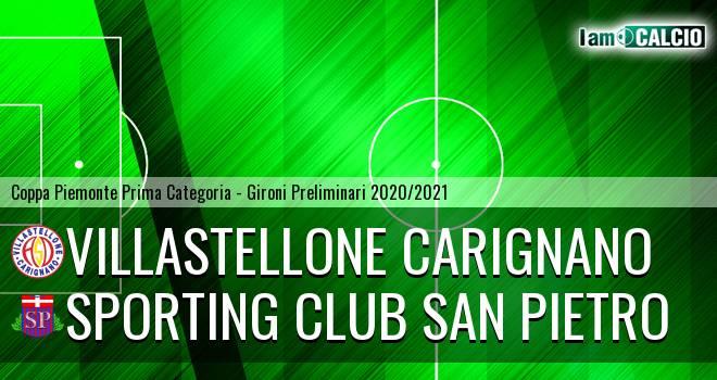 Villastellone Carignano - Sporting Club San Pietro