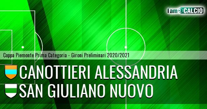 Canottieri Alessandria - San Giuliano Nuovo