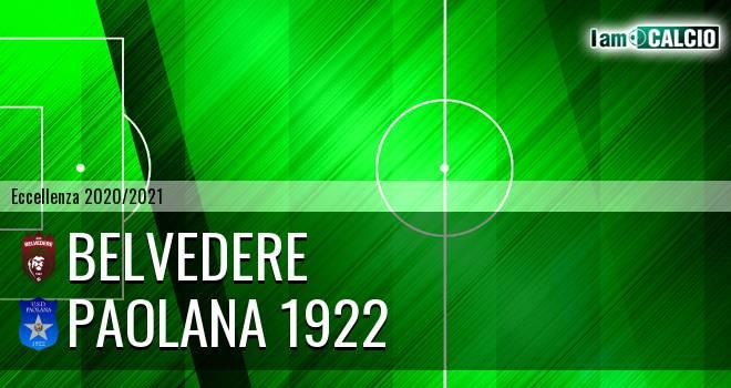 Belvedere - Paolana 1922