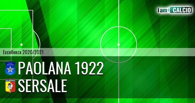 Paolana 1922 - Sersale