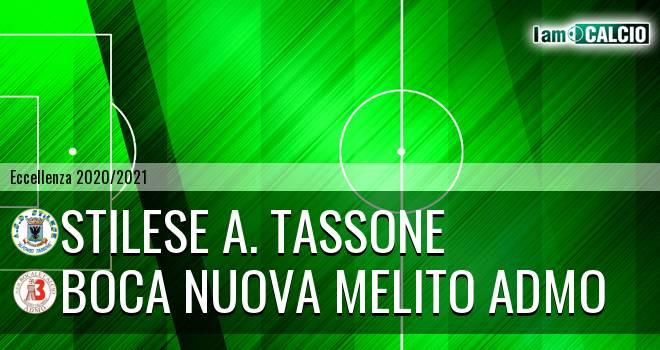 Stilese A. Tassone - Boca Nuova Melito ADMO