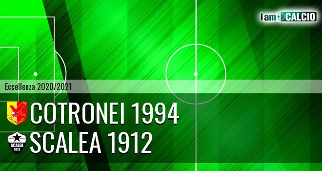 Cotronei 1994 - Scalea 1912