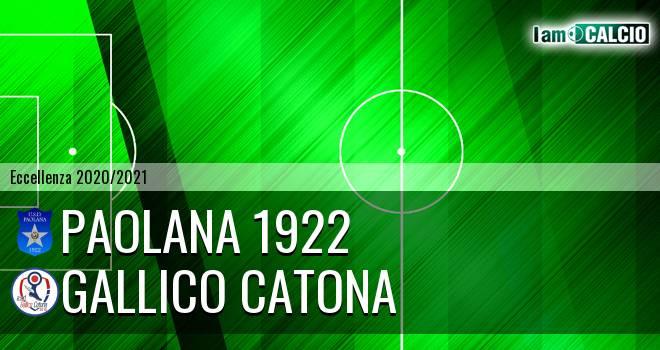 Paolana 1922 - Gallico Catona