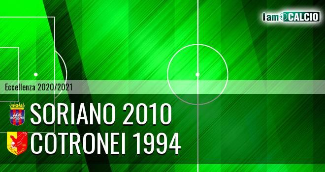 Soriano 2010 - Cotronei 1994