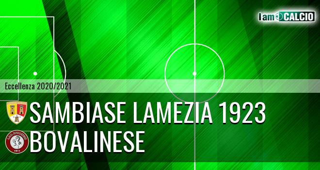 Sambiase Lamezia 1923 - Bovalinese