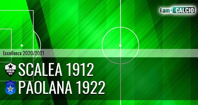 Scalea 1912 - Paolana 1922