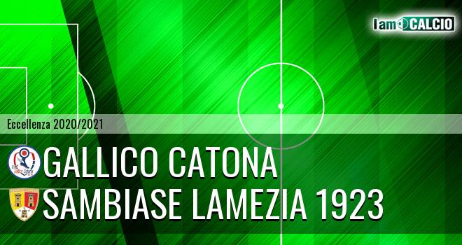 Gallico Catona - Sambiase Lamezia 1923