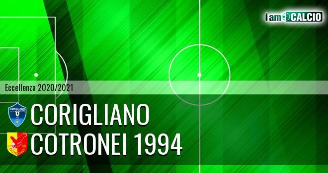Corigliano - Cotronei 1994
