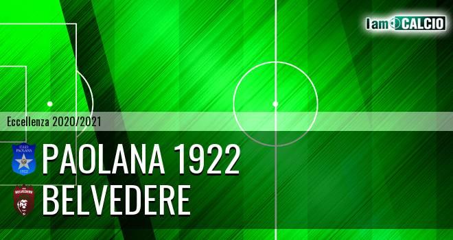 Paolana 1922 - Belvedere