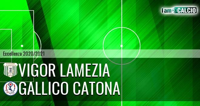 Vigor Lamezia - Gallico Catona