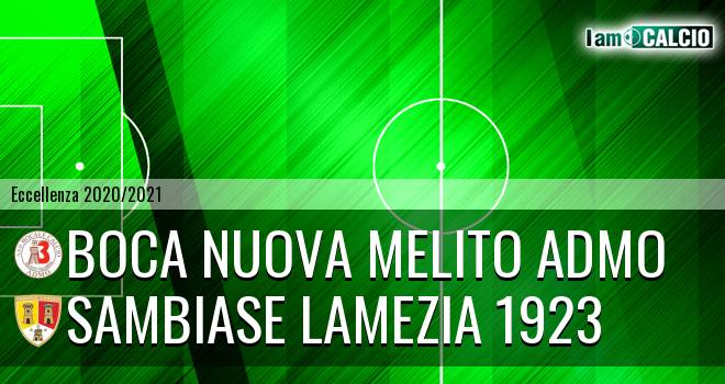 Boca Nuova Melito ADMO - Sambiase Lamezia 1923